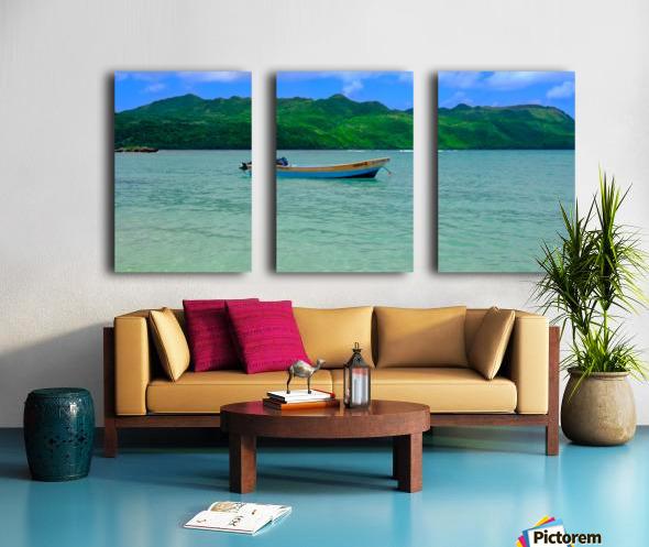 Samana Beach - Playa Rincon  Split Canvas print