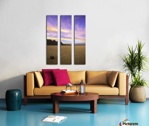 Mysterious World Split Canvas print