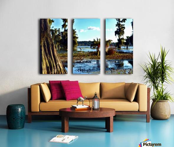 Seek Me Out Split Canvas print