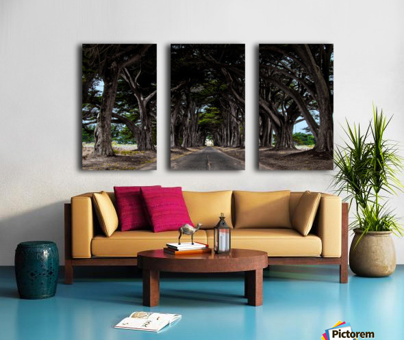 No Light At The End of Tunnel Split Canvas print