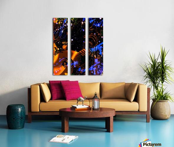 The Imaginary Planets Series 6 Split Canvas print