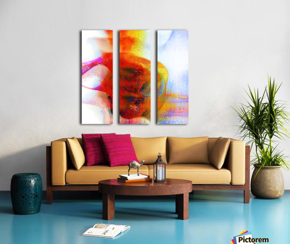 Atilafractalus 7 Split Canvas print