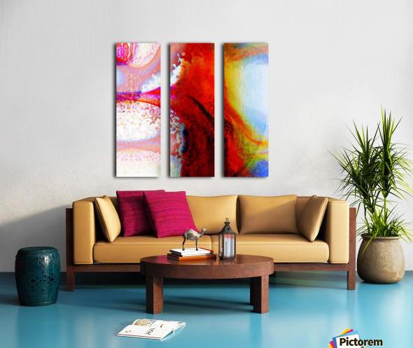 Atilafractalus 5 Split Canvas print