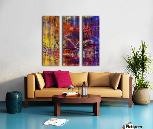 Calika (4) Split Canvas print