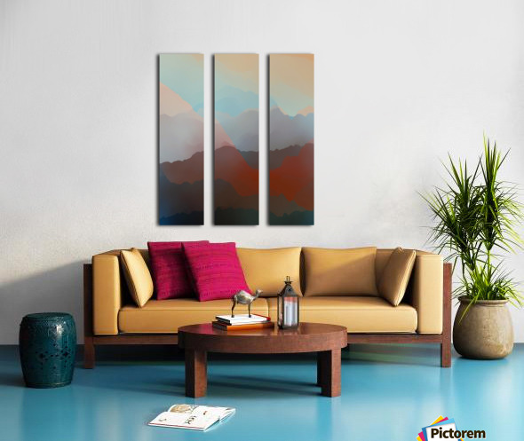 Beautiful Mountains 2 Split Canvas print