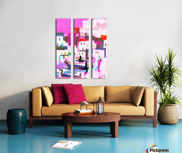 2471 Split Canvas print