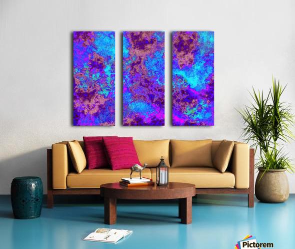 Summer Storm Clouds 9  Split Canvas print