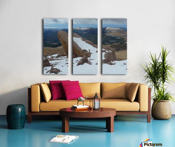 Pikes Peak Colorado  Split Canvas print