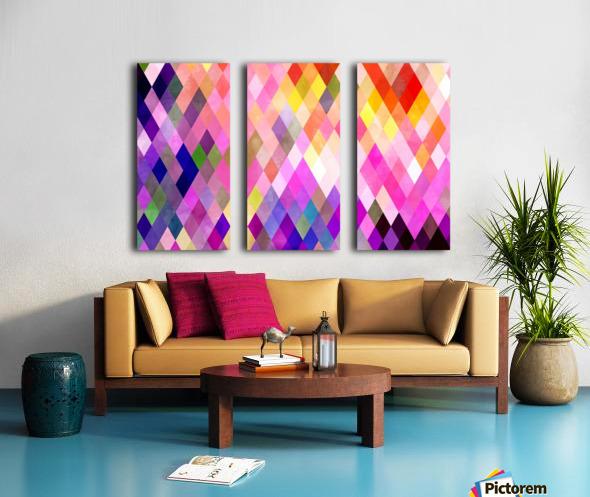 Geometry of Life Split Canvas print