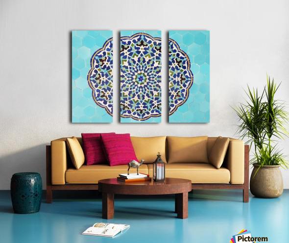 Yazd   Jameh mosque 2 Split Canvas print
