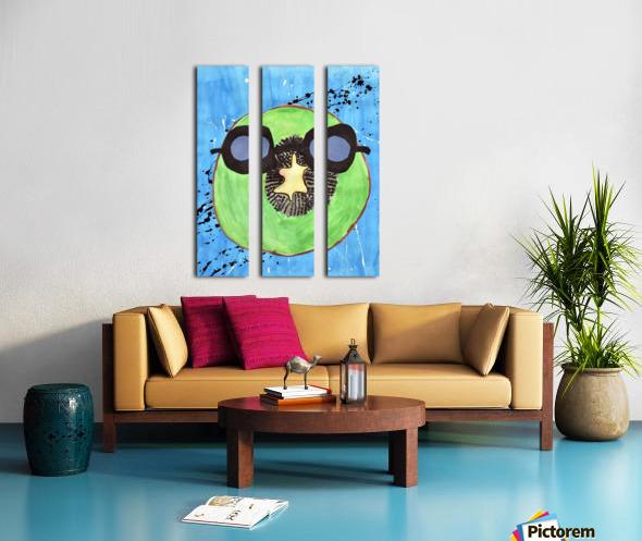 Kiwi Man. Michael D Split Canvas print