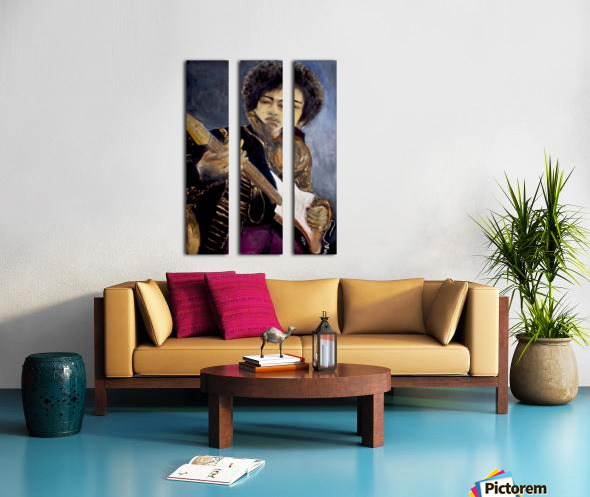 Jimi_High_Res Split Canvas print