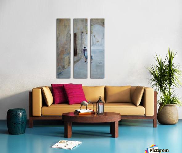 Two_Boys_High_Res Split Canvas print