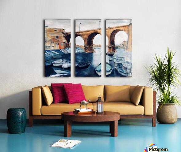 Marseille Split Canvas print
