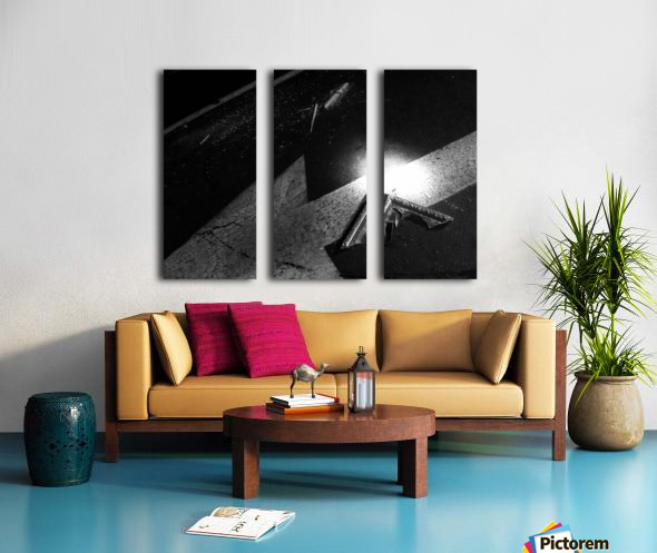 your creative endeavor Split Canvas print