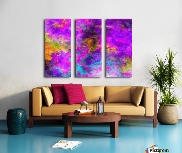 Plasma Light 5 Split Canvas print
