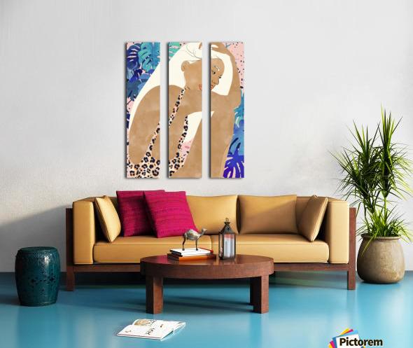 Jaguar Soul Split Canvas print