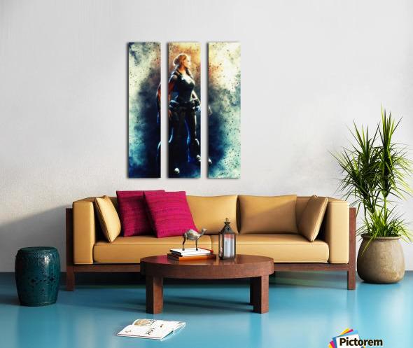 Anya Stroud Split Canvas print
