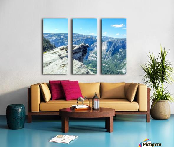 Glacier Point Yosemite Falls Split Canvas print