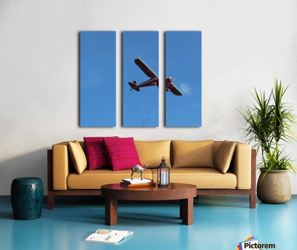 Flyover the  Prairie Split Canvas print