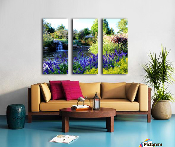 The Power of Water Split Canvas print