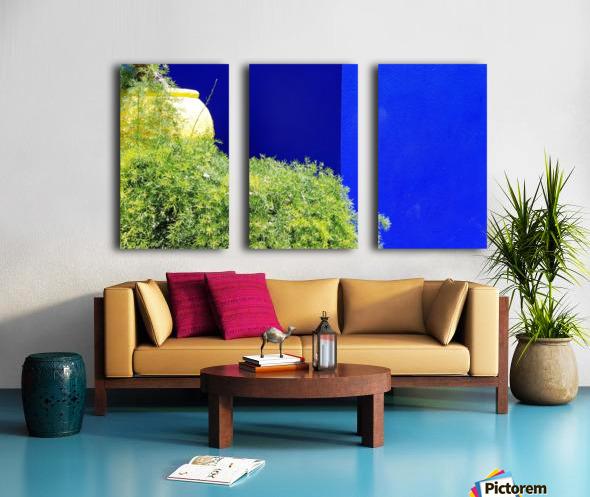 Marrakech on Blue Majorelle Split Canvas print