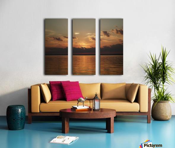 Georgian Sunrise Split Canvas print