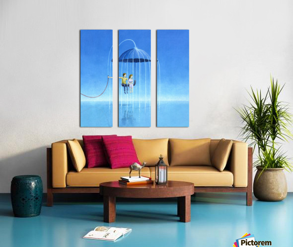stay with me Split Canvas print