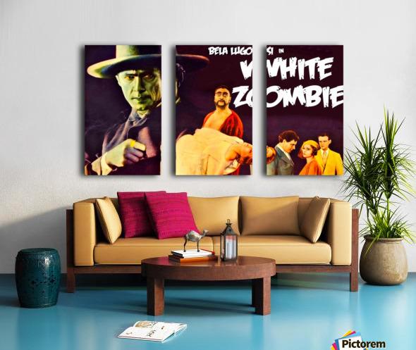 "24/""x36/"" Canvas Classic Movie WHITE ZOMBIE"