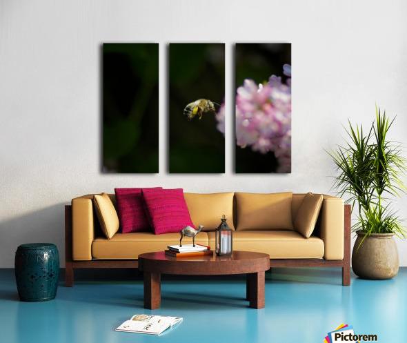 Bee Happy Split Canvas print