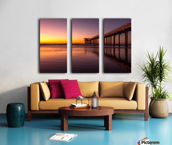 Final Dream Split Canvas print