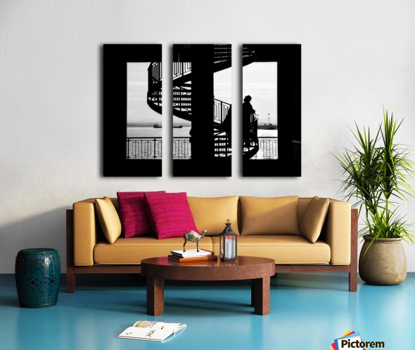 $ Split Canvas print
