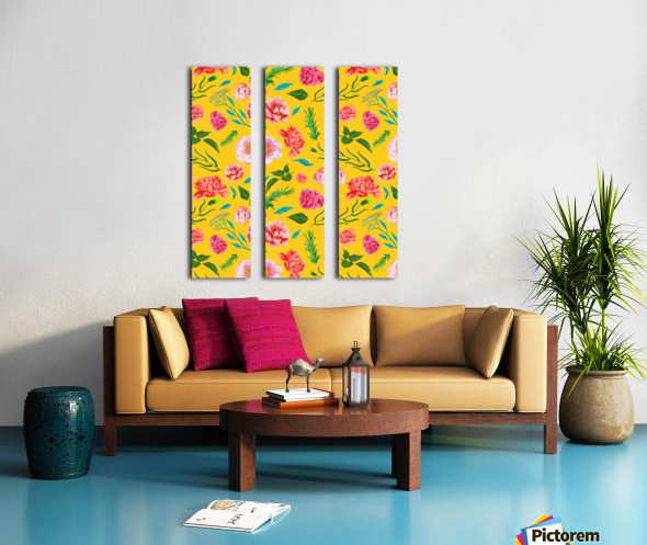 New Summer Split Canvas print