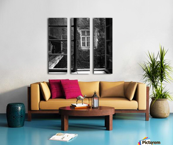 Windows Split Canvas print