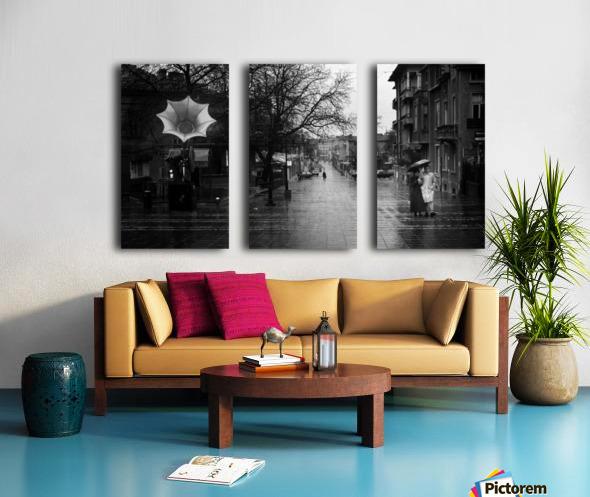 Rainy Split Canvas print