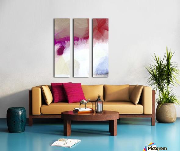 White Water Split Canvas print