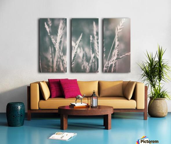 Spica in Glow Split Canvas print