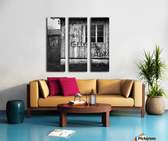 Bunagalow Split Canvas print
