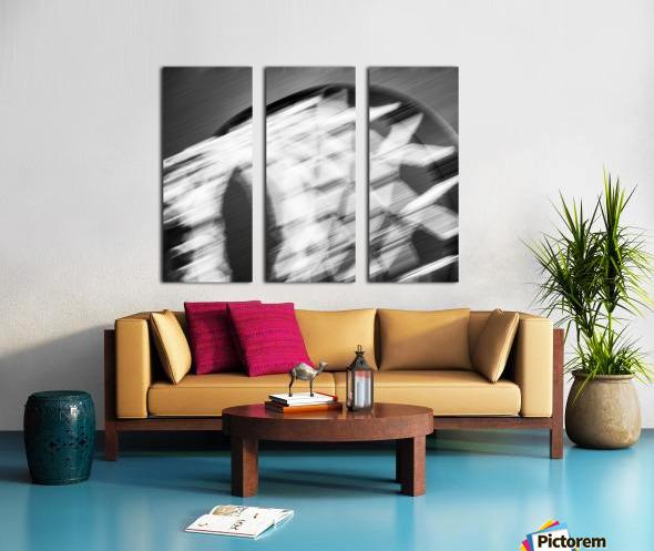 Hoop to the Sky Split Canvas print