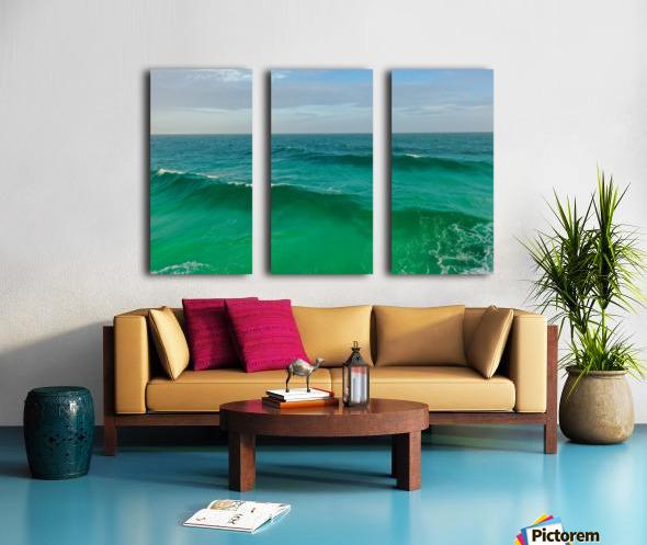 Big Wave Split Canvas print