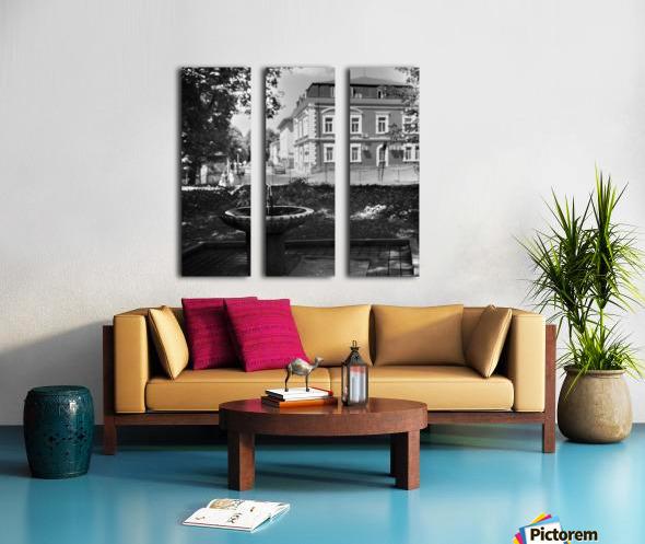 City Faucet Split Canvas print