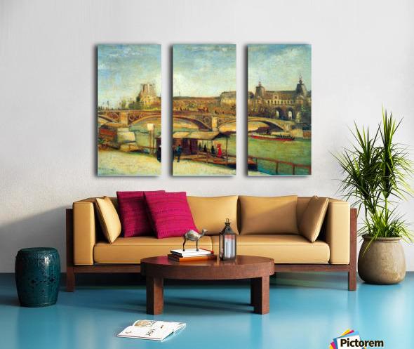 Bologne by Van Gogh Split Canvas print