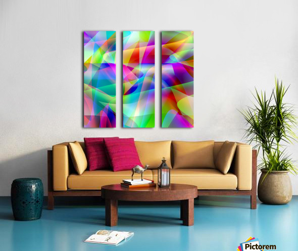 A.P.Polo - Abstractum 3.2 Split Canvas print