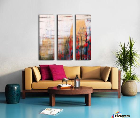 Montreal Split Canvas print