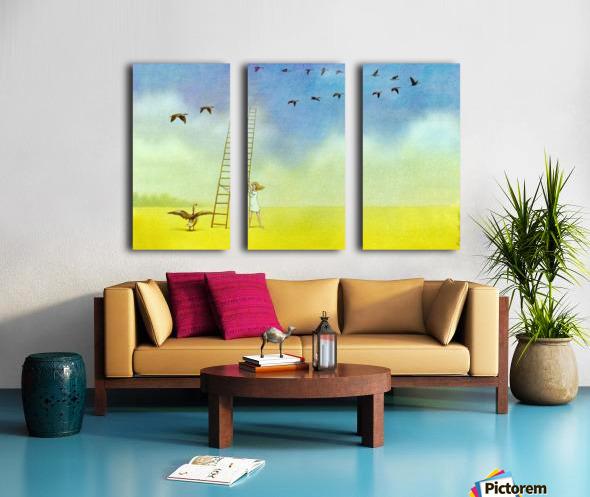 summer s end Split Canvas print