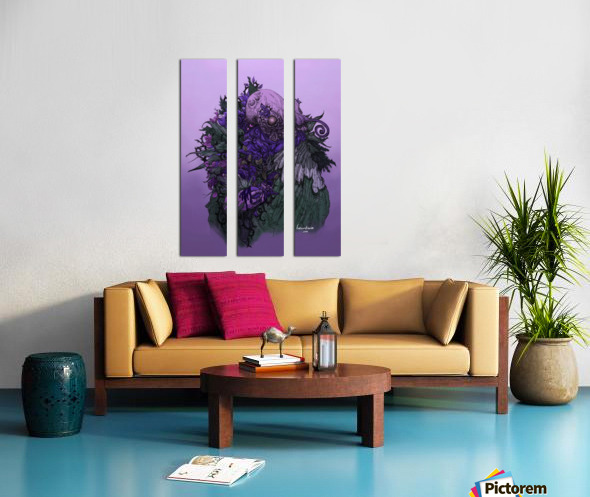 When memories are dying in a dream  Split Canvas print