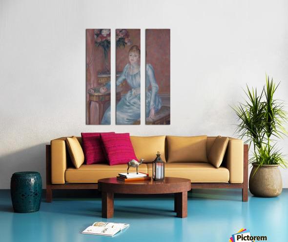 Portrait of Madame de Bonnieres Split Canvas print