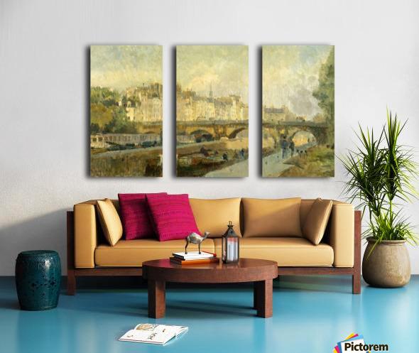 Le Pont Neuf Split Canvas print