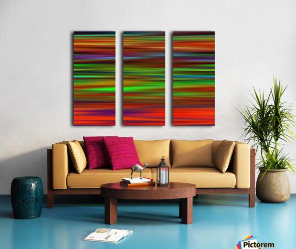 Colorful Lines Split Canvas print