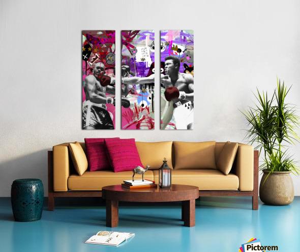 Connect Split Canvas print